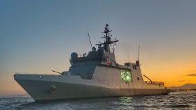 El buque de acción marítima 'Audaz' de la Armada Española.