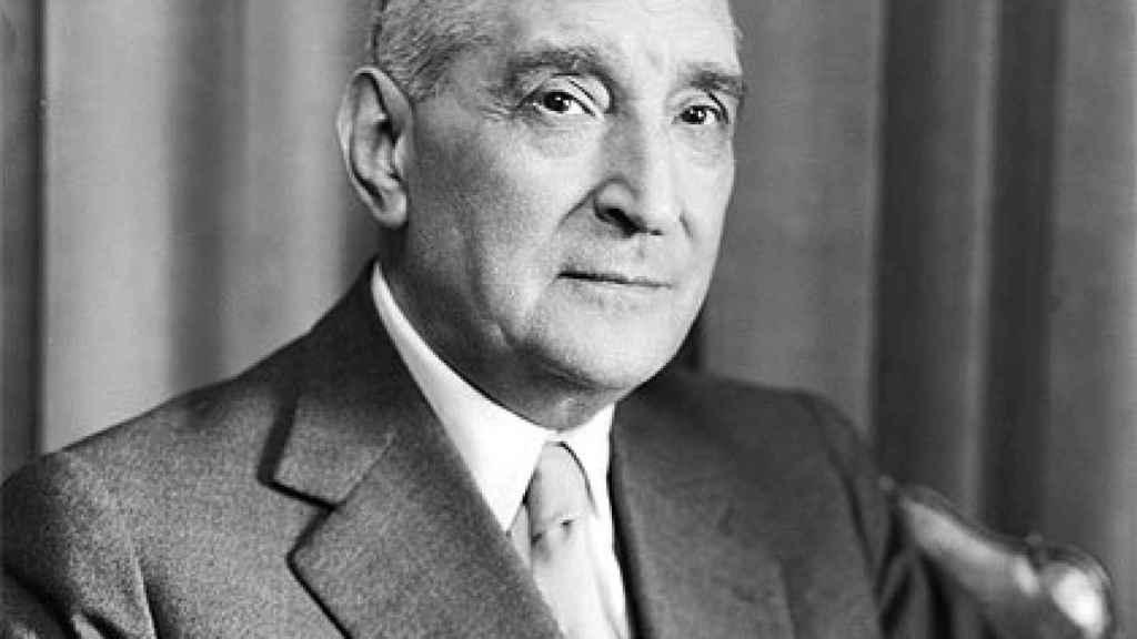 El dictador portugués, António de Oliveira Salazar.