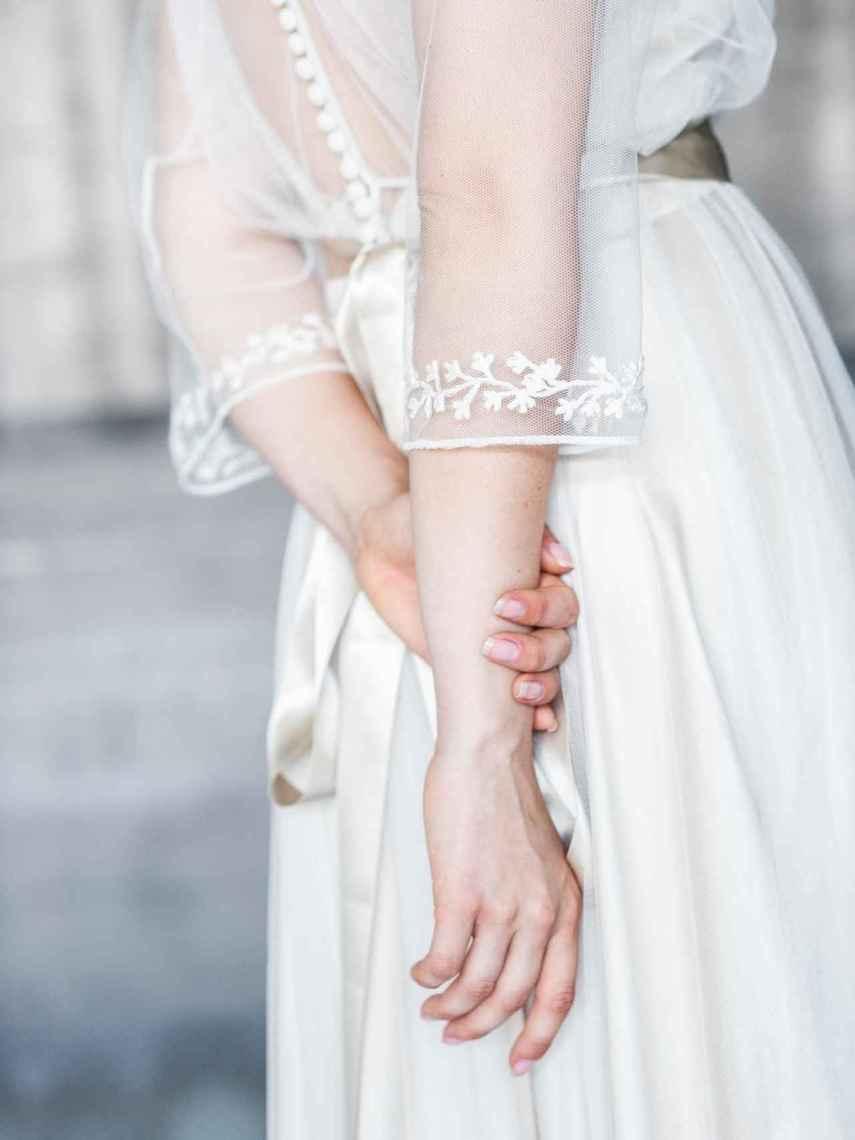 Los detalles de los vestidos pueden reinventarse para ser reciclados.