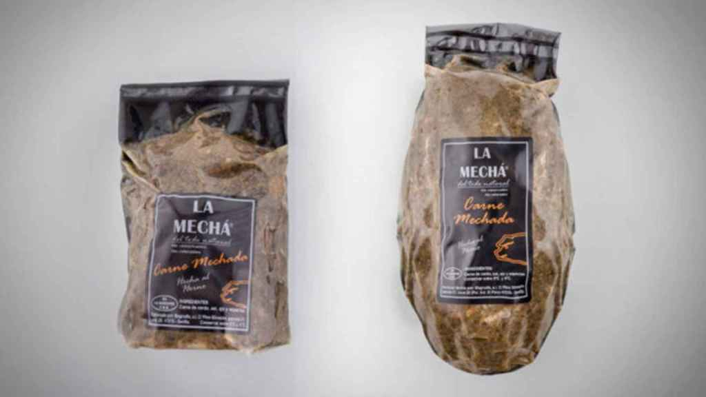 Carne 'La Mecha' de la empresa Magrudis