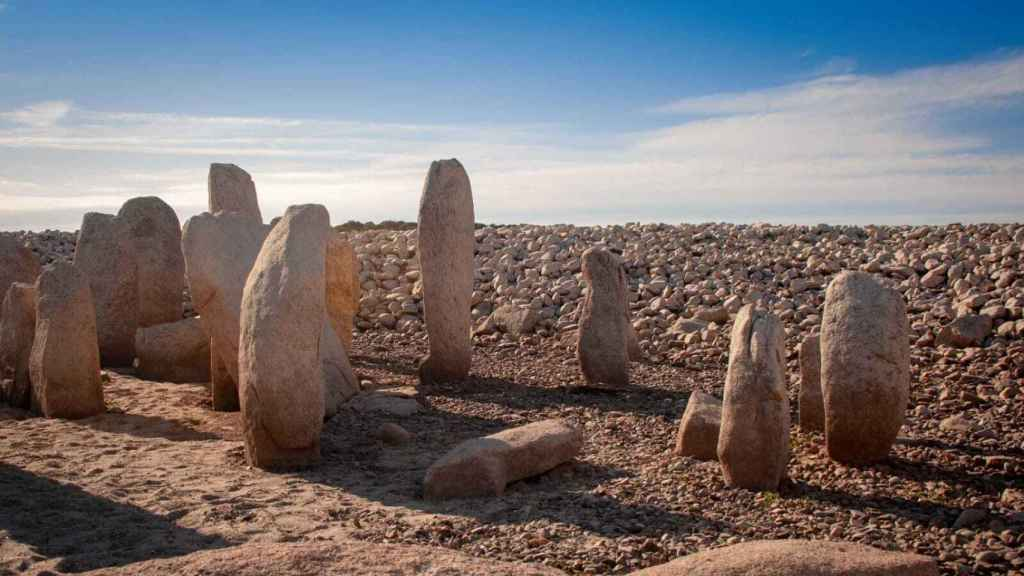 El dolmen de Guadalperal fue construido entre el milenio III y II a.C.