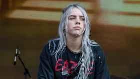 Billie Eilish en uno de sus conciertos.