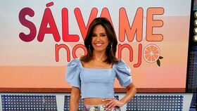 Nuria Marín durante una de sus tardes en 'Sálvame'.
