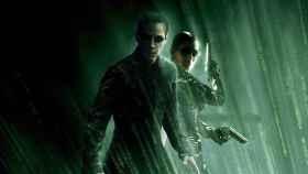 Neo (Keanu Reeves) y Trinity (Carrie-Anne Moss)