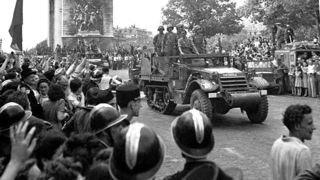 9ª Compañía Española en París.