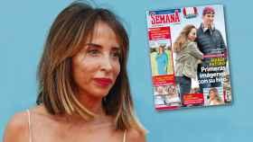 María Patiño en un montaje JALEOS realizado con la portada de SEMANA ( 22 agosto 2018).