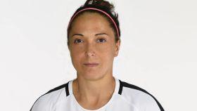Laura del Río, en su etapa como jugadora del Madrid CFF. Foto: madridcff.com