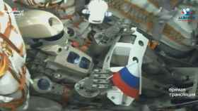 Fedor en la Soyuz MS-14