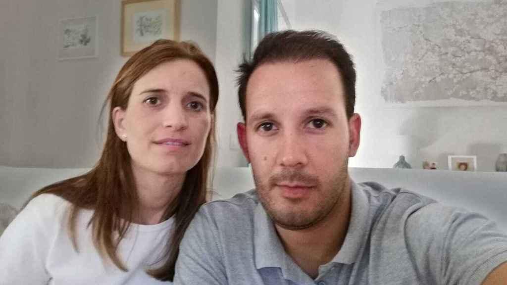 María Teresa y José, los padres afectados.