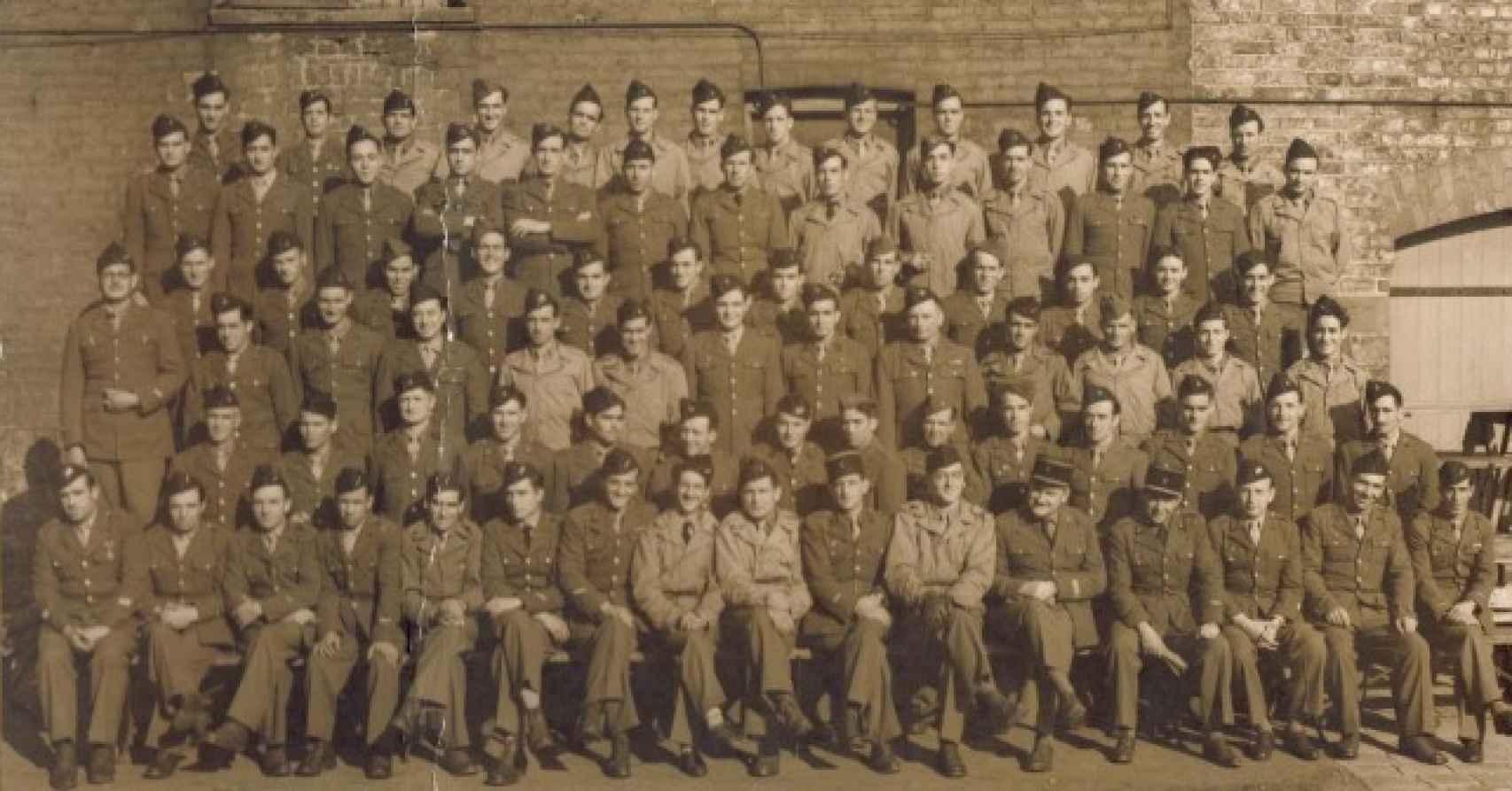 La 9ª Compañía de la División Leclerc.