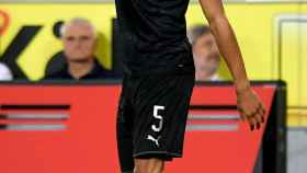 Achraf celebra su gol al Colonia