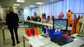 Empleados de El Corte Inglés en un curso.
