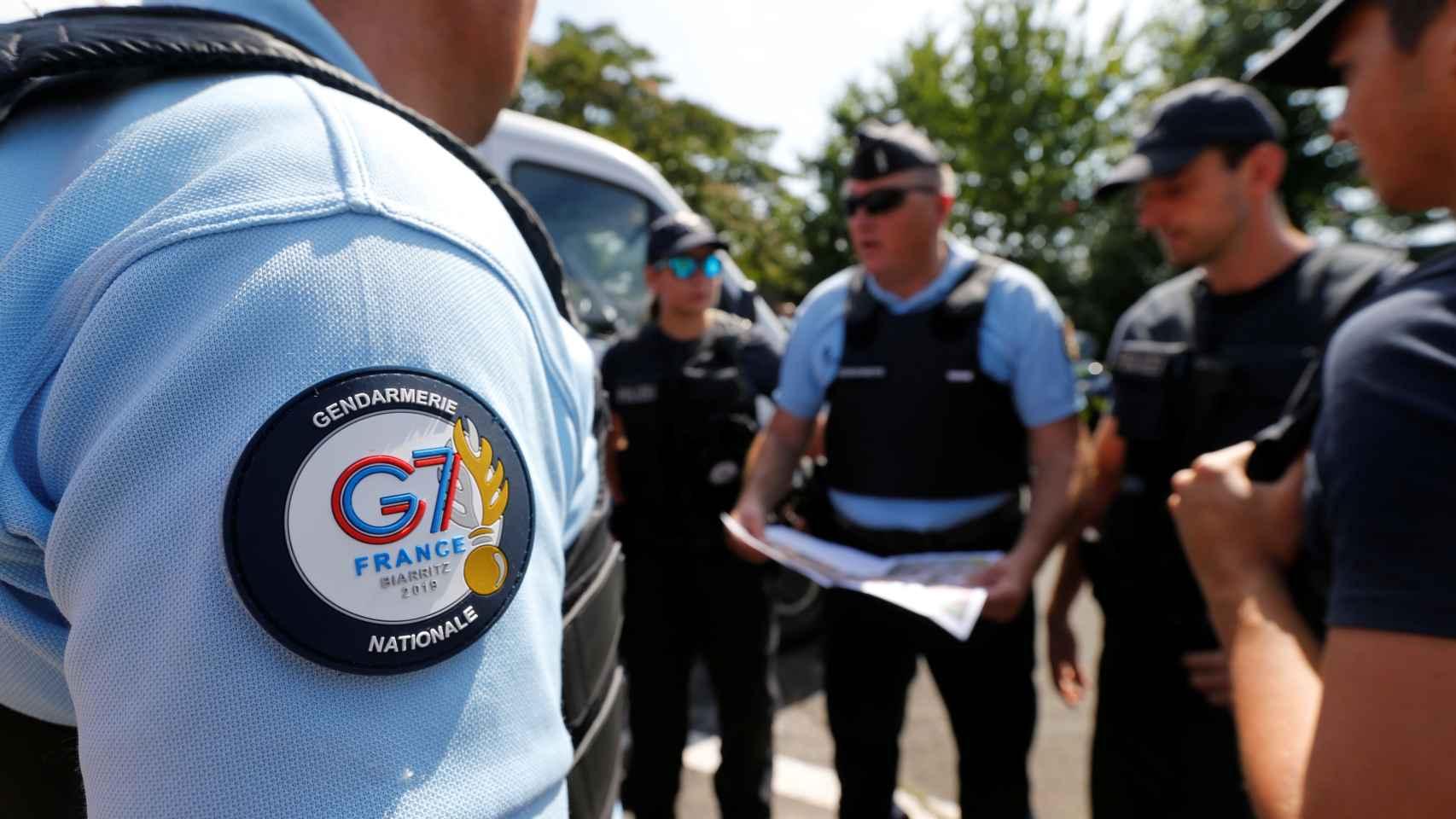 Biarritz, blindada para proteger a los líderes mundiales del G-7