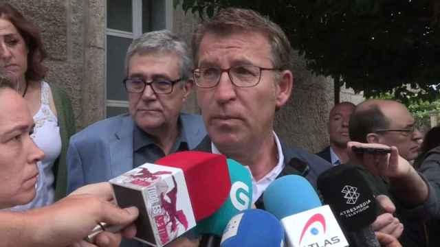 Feijóo desea éxito a España Suma pero ve el proyecto innecesario en Galicia