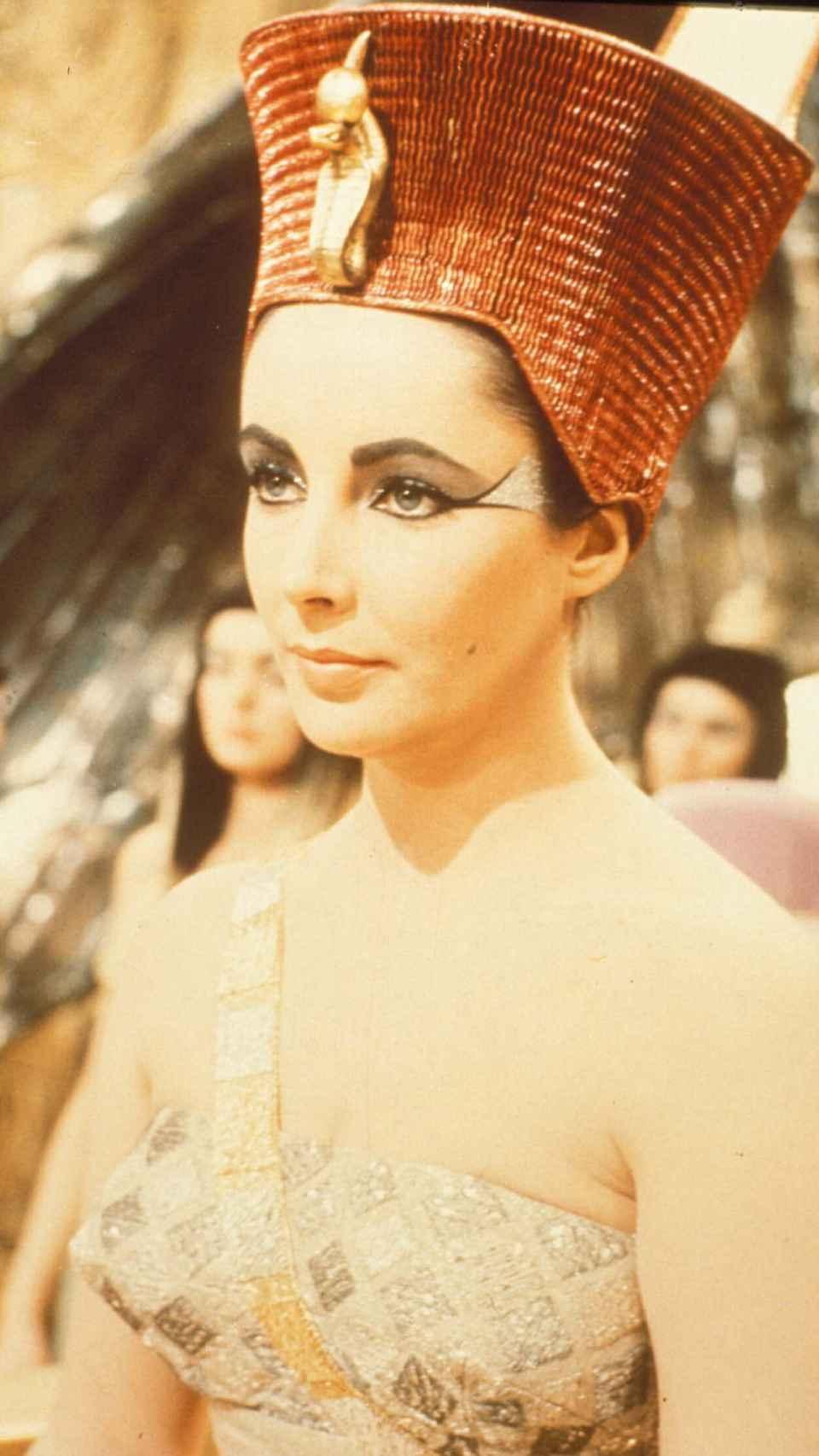 Elizabeth Liz Taylor en la película 'Cleopatra'.