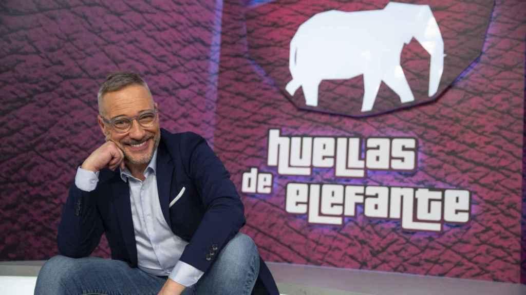 Goyo González en imagen promocional de 'Huellas de Elefante'.