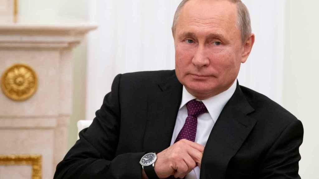 El presidente ruso, Vladimir Putin, en una comparecencia reciente.