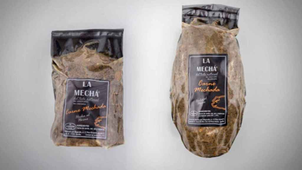 La carne mechada, de La Mechá, distribuida por Magrudis.