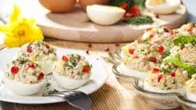 Seis recetas de huevos rellenos para preparar en cualquier época del año