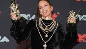 Rosalía en los MTV Music Awards.