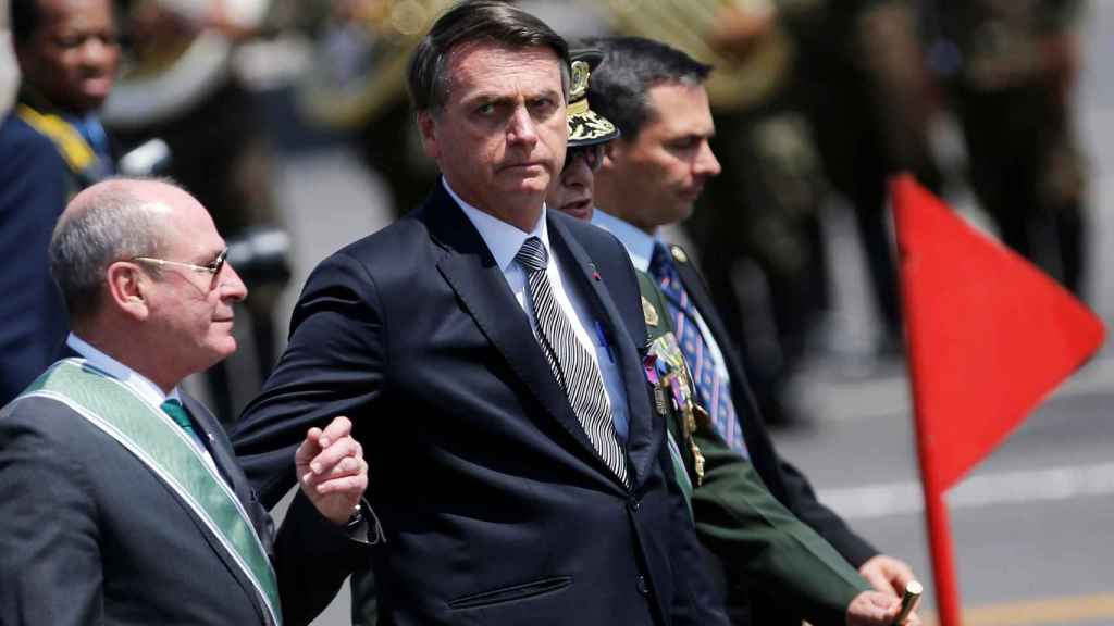 Bolsonaro, el pasado 23 de agosto en Brasilia.