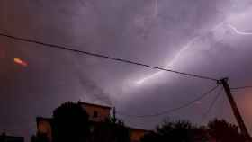 Una foto de archivo de una tormenta.