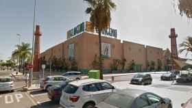 Centro comercial en el que dejó su coche aparcado