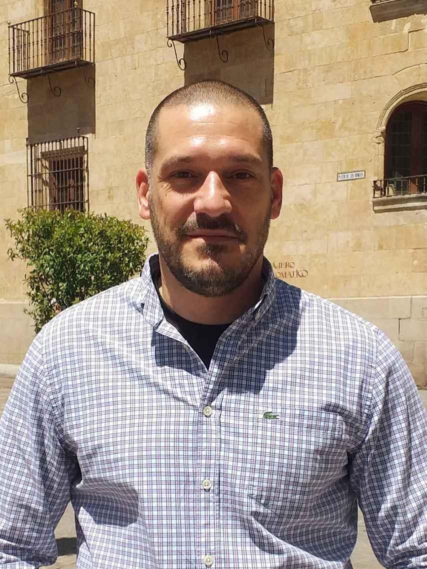 El comisario de Policía y escritor Luis Esteban.
