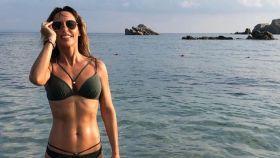 Emma García está aprovechando sus últimos días de vacaciones en la playa.