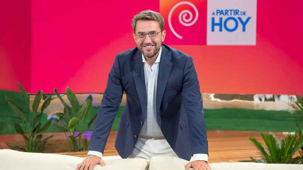 Màximo Huerta en una imagen promocional del programa 'A partir de hoy'.