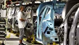 Una fábrica de coches, en una imagen de archivo.