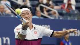 Nishikori en el US Open.