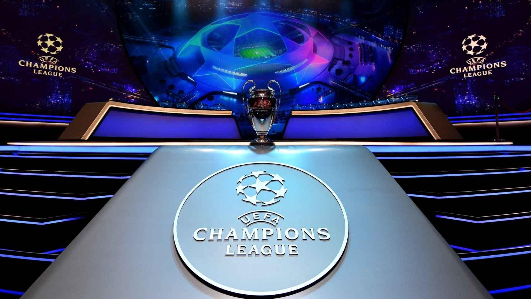 Sorteo de la Champions League. Foto: Twitter (@PSG_Inside)