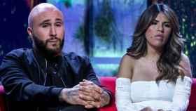 Kiko Rivera e Isa Pantoja en un montaje de JALEOS.