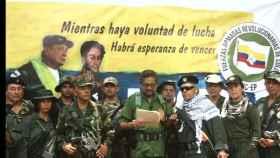 Iván Márquez en una imagen del vídeo.