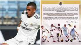 Moha  anuncia su salida del Juvenil del Real Madrid. Foto: Twitter (@mohita_6)