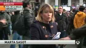 La periodista catalana Marta Sasot (Antena 3)