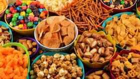 Distintos alimentos ultraprocesados que podemos adquirir en el supermercado.