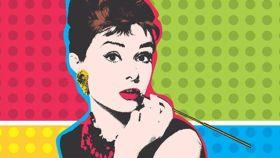 Audrey Hepburn pop.