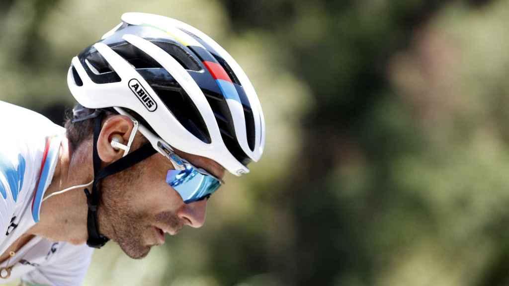 Alejandro Valverde, durante la Vuelta a España