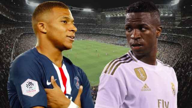 Mbappé y Vinicius