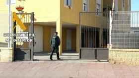 Puesto principal de la Guardia Civil en las Cuevas del Almanzora (Almería).