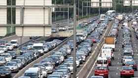 Carretera congestionada