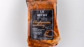 La familia canaria comió chicharrón en un viaje a Andalucía.