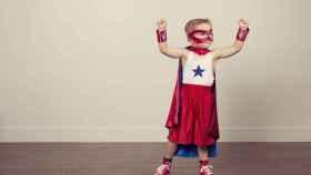 niño superheroes