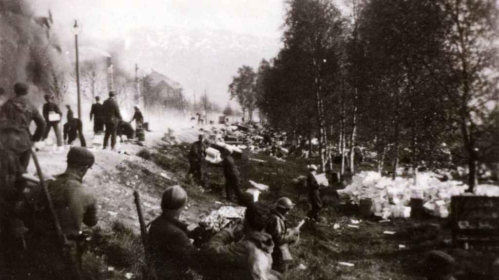 Batalla de Narvik.