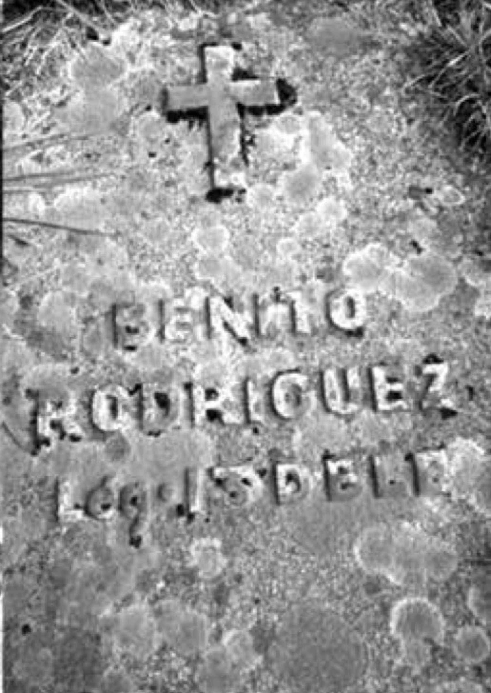 Tumba de Benito Rodríguez, fallecido en Narvik el 13 de mayo de 1940.