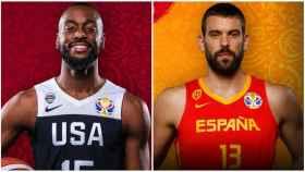 Kemba Walker y Marc Gasol. Foto: FIBA