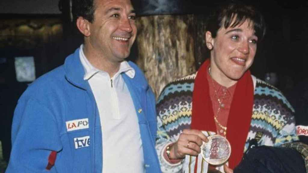Blanca y Francisco Fernández Ochoa.