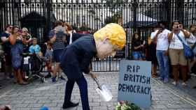 Protesta masiva en el Reino Unido.
